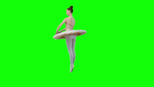 ballerina dancing in slow motion - ballet dancer stock videos & royalty-free footage
