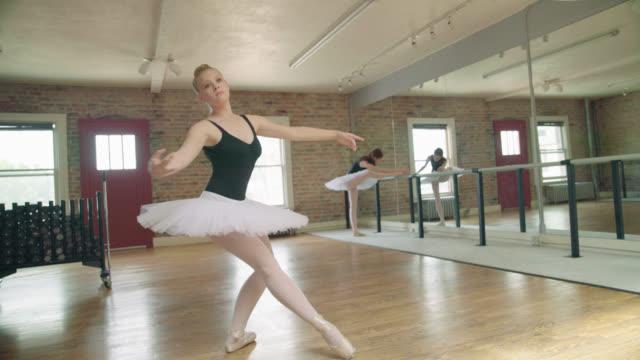 ballerina freeform dancing - lycra stock videos & royalty-free footage
