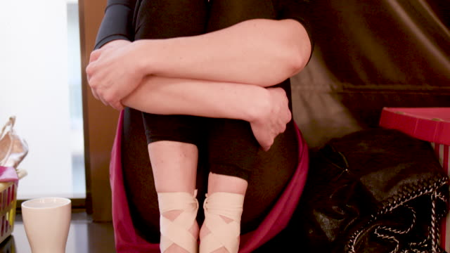 ballerinas life - ballet shoe stock videos & royalty-free footage