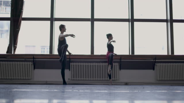 ballerinas life - dance studio stock videos and b-roll footage