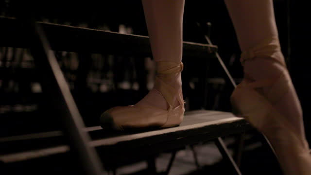 ballerinas life - ballet shoe stock videos and b-roll footage