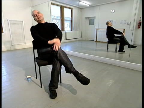 ballet based on einstein's theory of relativity mark baldwin interview sot i want these ideas to appeal to big audience/ i knew if used schoenbergwe... - e=mc2 stock videos and b-roll footage