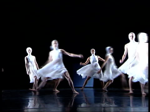 ballet based on einstein's theory of relativity sequence members of rambert dance company performing dance based on einstein's theory of relativity... - e=mc2 stock videos and b-roll footage