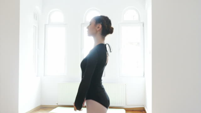 Ballet class.