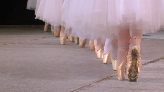 ballet company in the pointe - tutu stock videos and b-roll footage