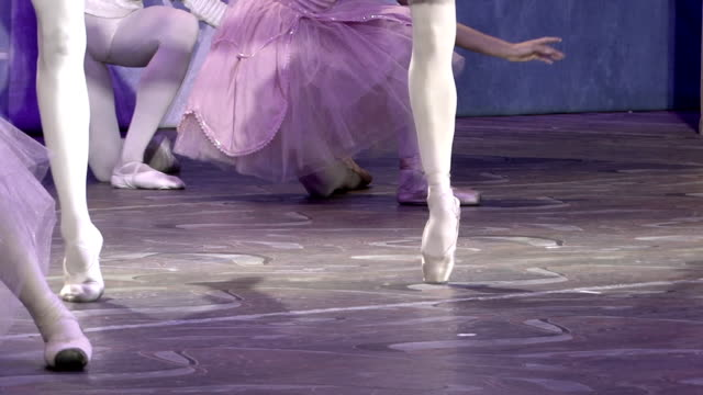 ballet - dance on pointe - en pointe stock videos and b-roll footage