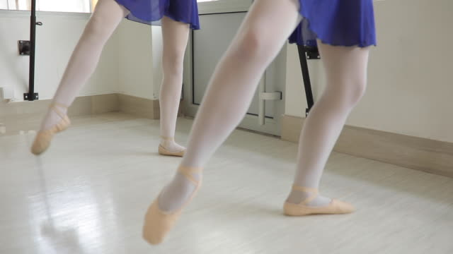 ballet dancers exercising together - balance stock videos and b-roll footage