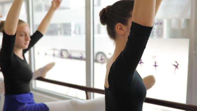 ballet dancers - ballet studio stock videos and b-roll footage