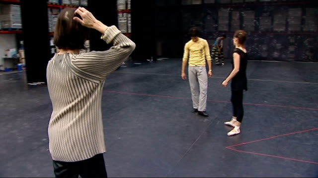 english national ballet rehearse christmas production of 'the nutcracker' english national ballet rehearsals continued sot - the nutcracker named work stock videos & royalty-free footage