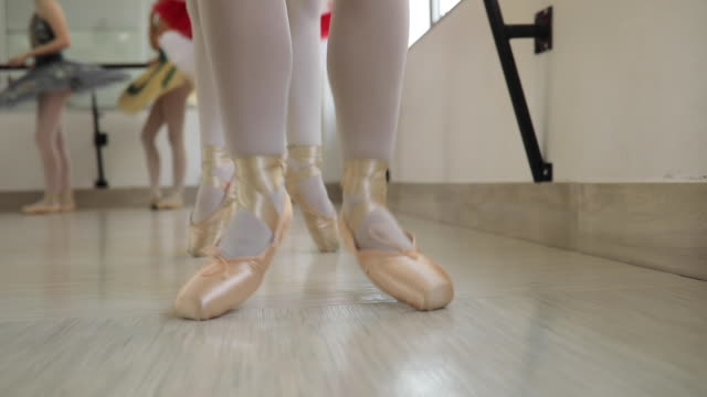 ballet girls training hard - small stock videos & royalty-free footage