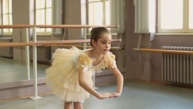 バレエは私の情熱です - バレエ練習用バー点の映像素材/bロール