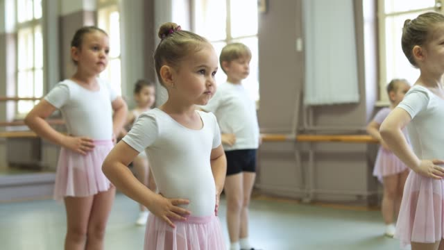 ballet practice - femininity stock videos & royalty-free footage