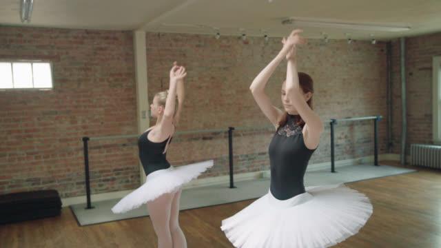 バレエ練習用 - ライクラ点の映像素材/bロール