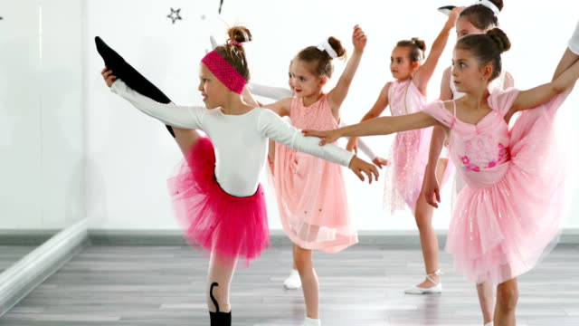 ballet practice. - ballet dancer stock videos & royalty-free footage