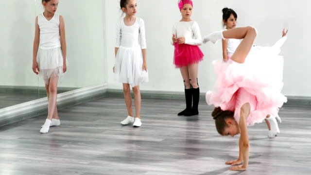 ballet practice. - acrobatic activity stock videos and b-roll footage