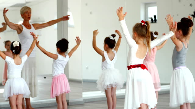 ballet practice. - ballet dancing stock videos & royalty-free footage