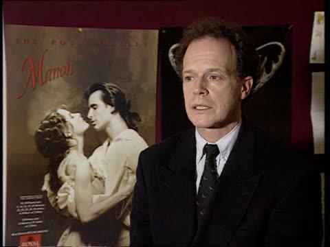 rudolf nureyev dead cms anthony dowell intvwd sof he had animal magnetism - ballet dancer stock videos & royalty-free footage