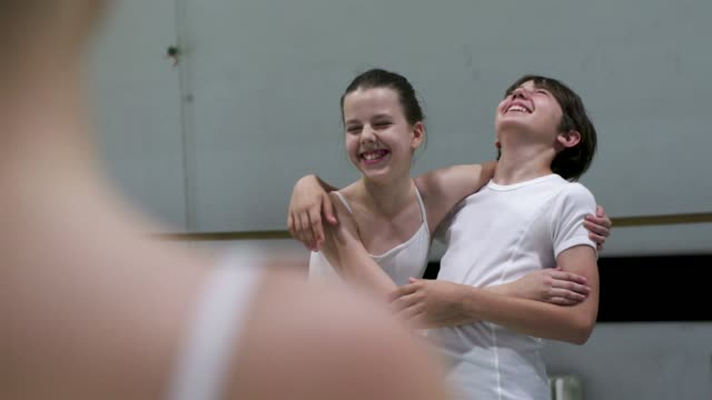 stockvideo's en b-roll-footage met balletschool - 10 11 jaar