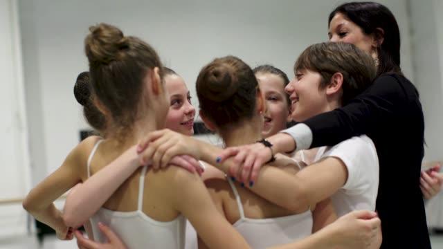 ballet school - grazia video stock e b–roll