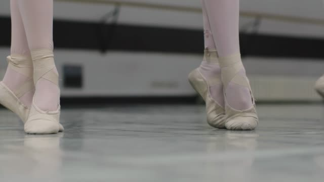 ballet school - ballet shoe stock videos and b-roll footage