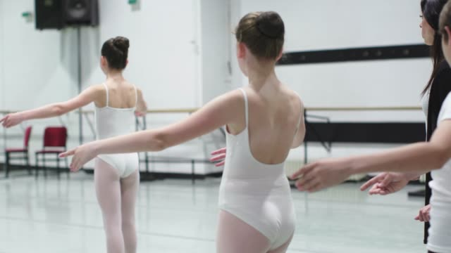 ballet school - ballet performance stock videos & royalty-free footage