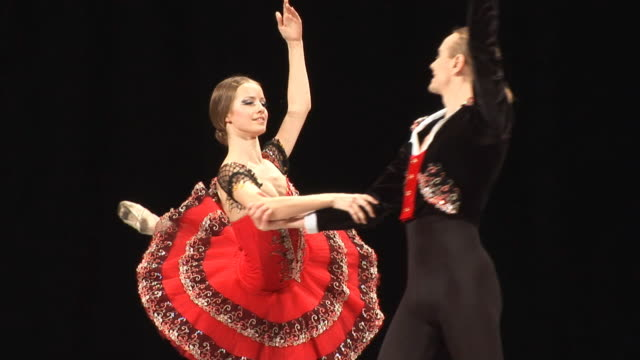 ballet show - ballet shoe stock videos and b-roll footage