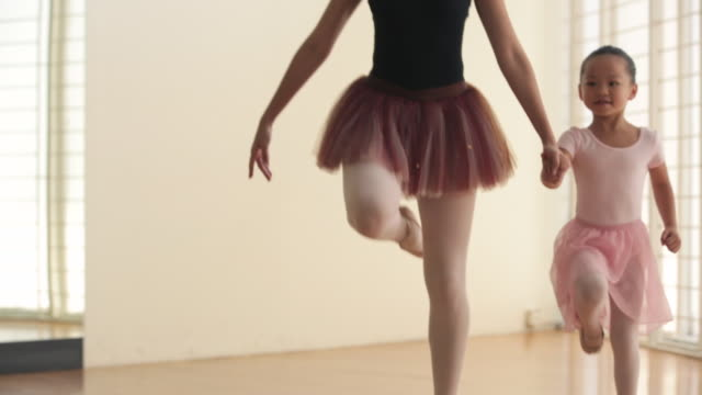ms ballet teacher young ballerina to dance. - stockings stock videos & royalty-free footage