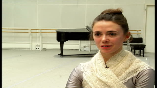 'the nutcracker' at the royal opera house oughtred interview sot on how little girls who come to watch the performance will want to be the sugar plum... - fairy stock videos & royalty-free footage
