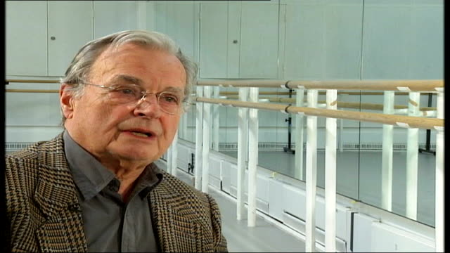 'the nutcracker' at the royal opera house wright interview sot - the nutcracker named work stock videos & royalty-free footage