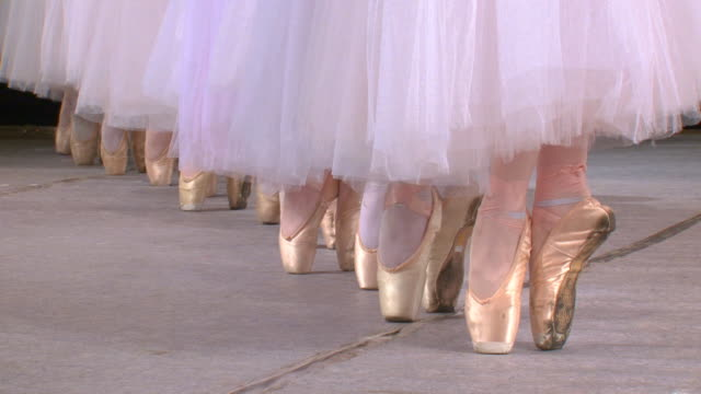 ballet - ballet shoe stock videos and b-roll footage