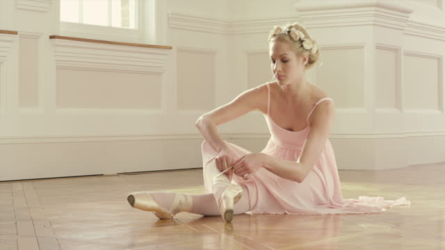 ballet - ballet shoe stock videos & royalty-free footage