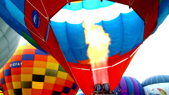 熱気球 - 熱気球点の映像素材/bロール