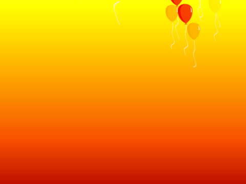 balloons background (PAL 25P)
