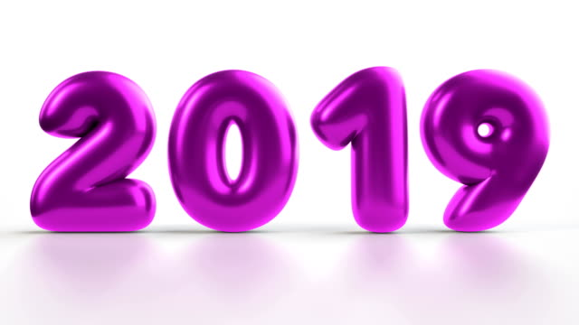2019 balloons - 2019 stock videos & royalty-free footage