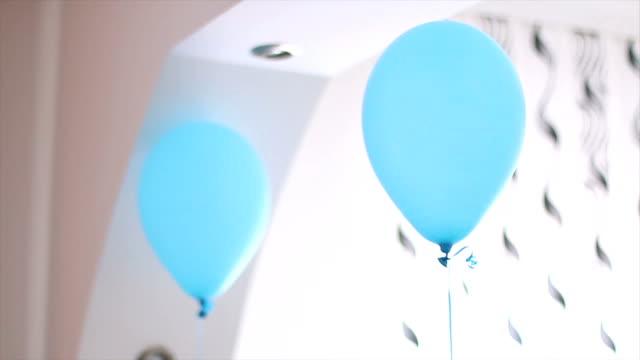 風船 - 一つ点の映像素材/bロール