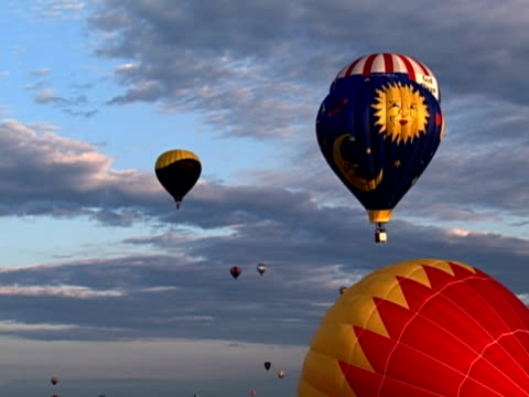 balloons - small group of objects stock videos & royalty-free footage