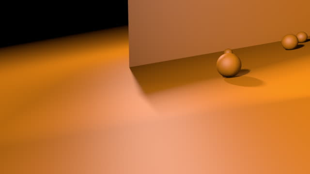 balls on orange background - balance stock videos & royalty-free footage
