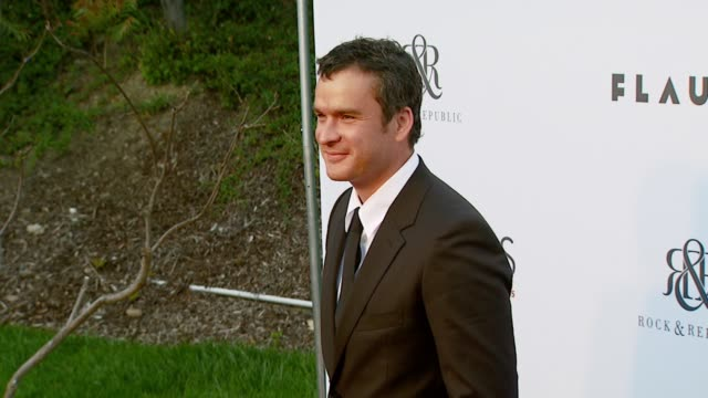 balthazar getty at the chrysalis butterfly ball at a private residence in los angeles california on june 2 2007 - chrysalis butterfly ball video stock e b–roll