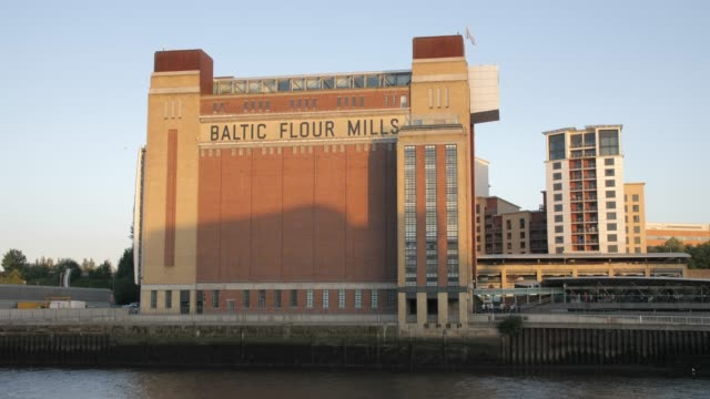 baltic flour mills, newcastle-upon-tyne, tyne and wear, england - newcastle upon tyne video stock e b–roll