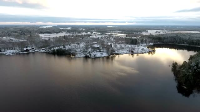 baltic sea aerial view - baltic sea stock videos and b-roll footage