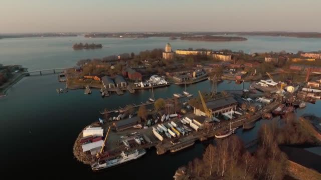 ostseechengaragin suomenlinna - finnland stock-videos und b-roll-filmmaterial
