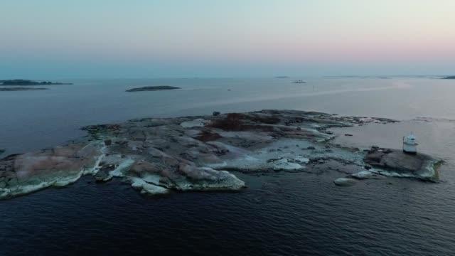 baltic sea archipelago - baltic sea stock videos and b-roll footage