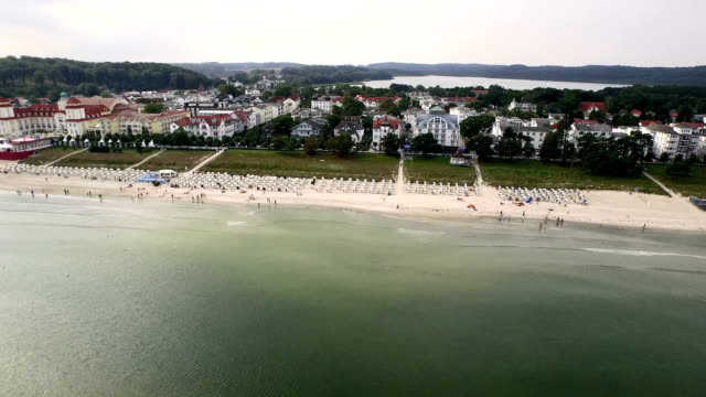 Baltic Sea Spa Binz Aerial View