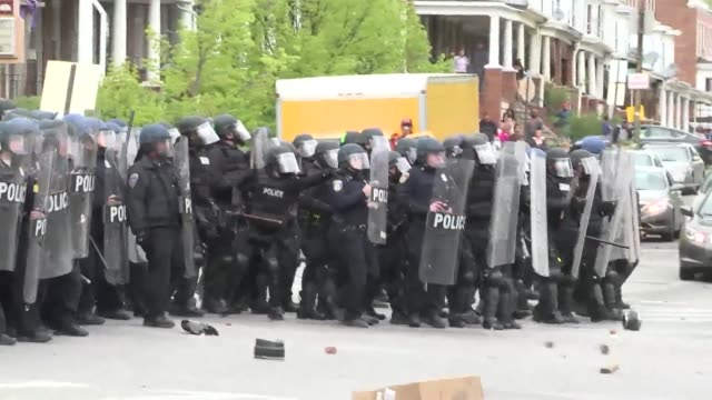 baltimore prosecutors dropped all remaining charges against police in the death of freddie gray an african american man whose fatal injury in police... - baltimore stock-videos und b-roll-filmmaterial