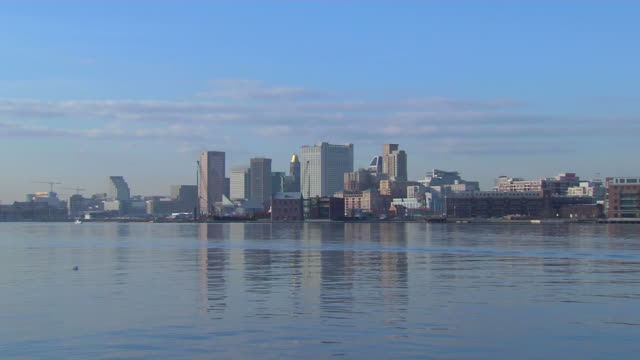 HD Baltimore Skyline ZoomIn_1 (1080/24P)