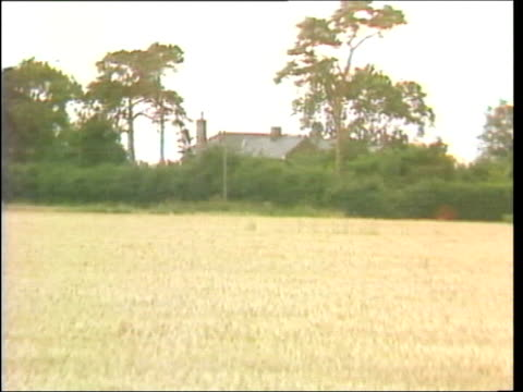 Jeremy Bamber begins appeal LIB ENGLAND Essex Tolleshunt D'Arcy Bamber house seen past trees ZOOM IN
