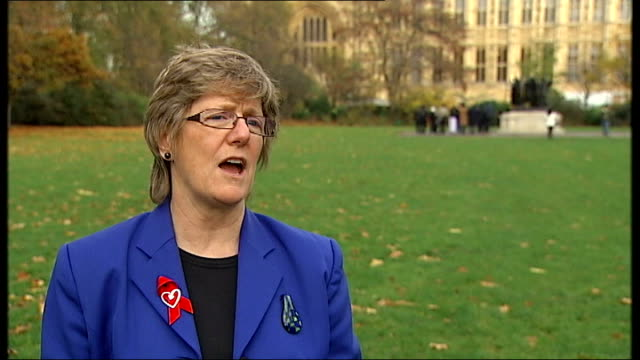 ban may be lifted on hiv positive healthcare workers carrying out surgery; england: london: ext dame sally davies interview sot - retrovirus video stock e b–roll