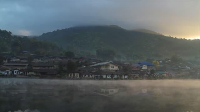 ban rak thai old village - mae hong son province stock videos and b-roll footage