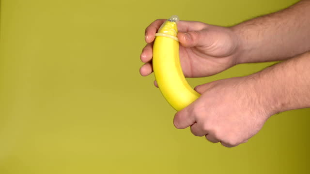 banana and condom - banana stock videos & royalty-free footage