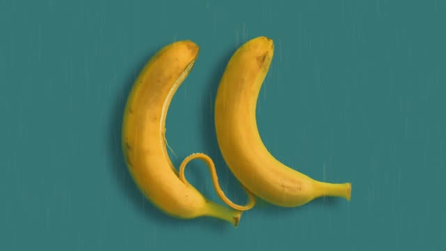 bananas love at the rain - harmony stock videos & royalty-free footage